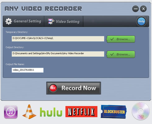 Any Video Recorder Features| Free Capture Screen Videos